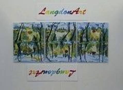 Langdonart TrioScene2 by Artiste LangdonArt
