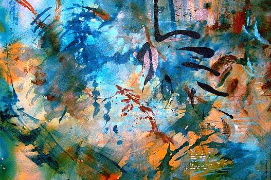 Lapis Leaves by Mary Schiros