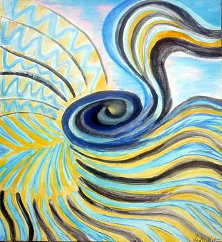 Large Intestine Flow by Sasha Niala Pustam