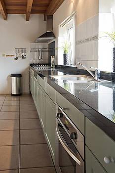 Large kitchen by Corepics