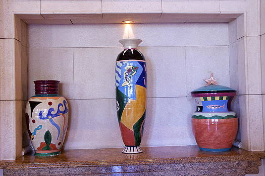 Large Pottery by Dick Willis