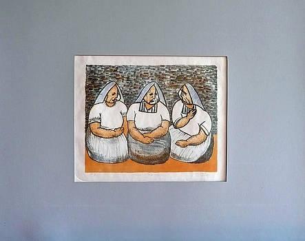 Las Comadres by Elias Rodriguez Avila