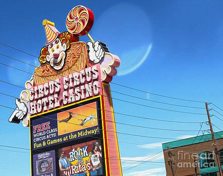 Gregory Dyer - Las Vegas - Circus Circus Sign