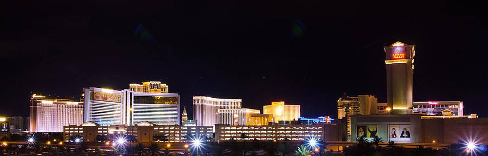 Las Vegas Skyline West View by Arnold Despi