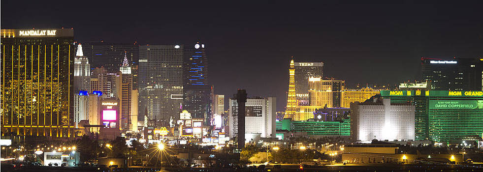 Las Vegas Strip by Bob Bailey