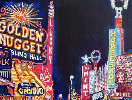 Las Vegas Strip by Mitchell McClenney
