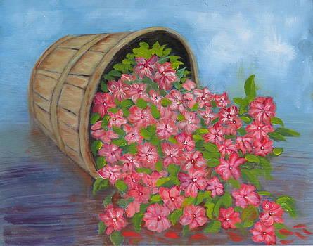 Last Flowers of Summer by Sharon Schultz