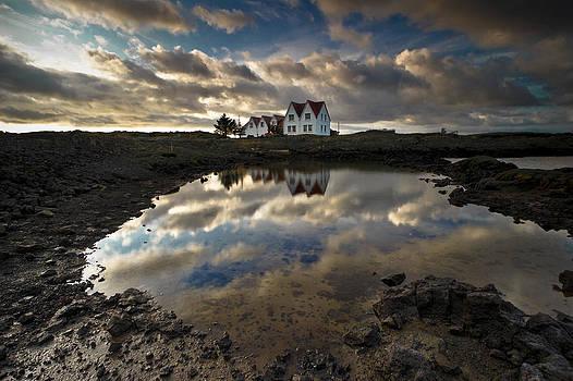 Last house on Earth by Petur Mar Gunnarsson
