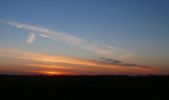 Last Sunset of 2014 by Dan McCafferty
