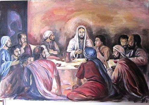 Last Supper by Andrei Sorokin