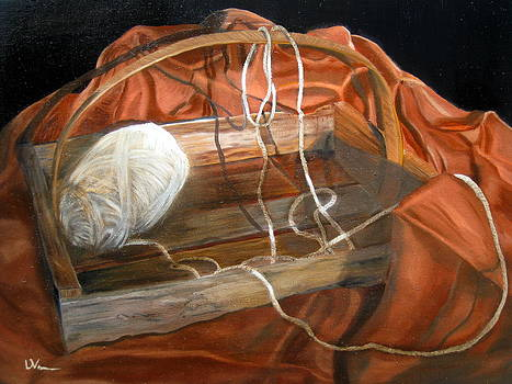 Last Yarn Ball by LaVonne Hand