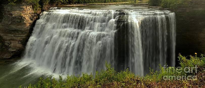 Adam Jewell - Letchworth Middle Falls Panorama