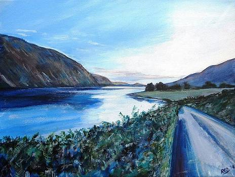 Late Evening Wastwater by Robina Osbourne