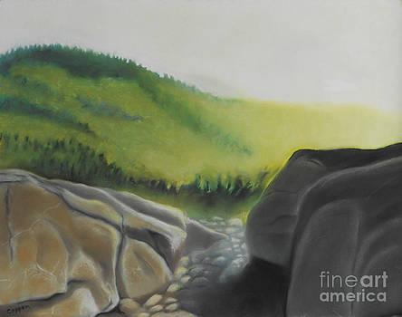 Late Light on Cascade by Robert Coppen