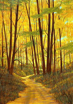 Late Summer Walk by Chris MacClure