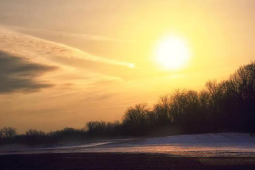 Late Winter Thaw by Michael Huddleston
