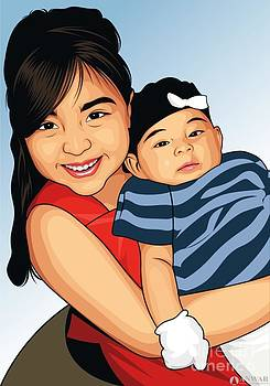 Latino  kids  by P Dwain Morris
