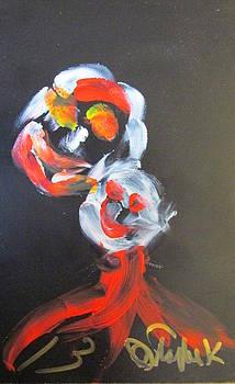 Laughing Flowers by Darryl  Kravitz