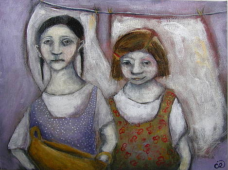 Laundry Day by Cindy Riccardelli
