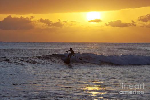 Launiupoko Sunset by David Olsen