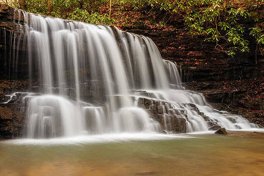 Laurel Run Falls TN by Jonathan Grim