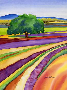 Hailey E Herrera - Lavender Field