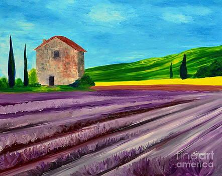Lavender field by Mariana Stauffer