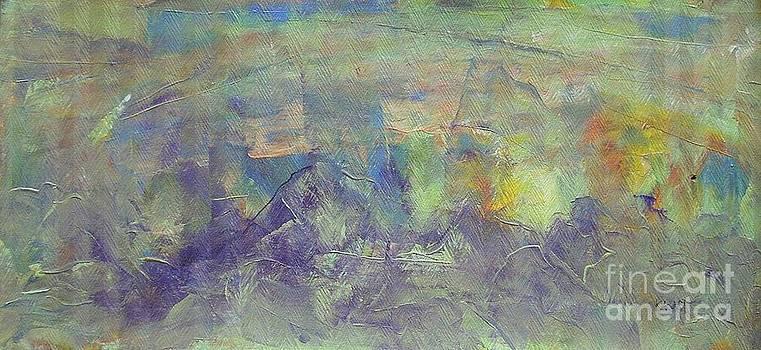 Lavender Hills by Dmitry Kazakov