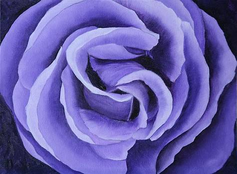 Lavender Rose by Marsha Thornton