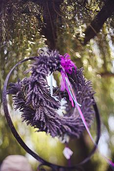 Lavender wreath by Tatiana Pavlova