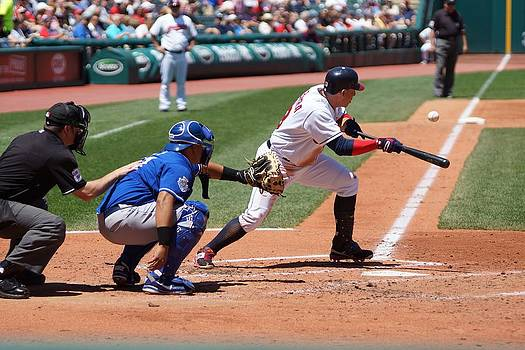 Laying Down The Bunt by Thomas Fouch