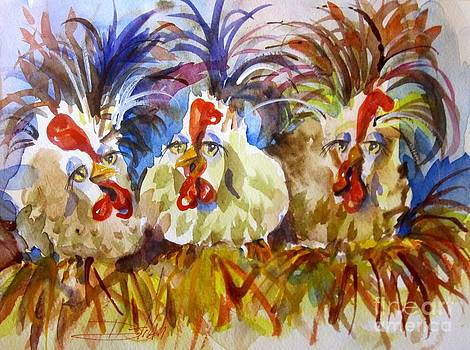 Laying Hens by Delilah  Smith