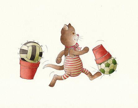 Lazy Cats01 by Kestutis Kasparavicius