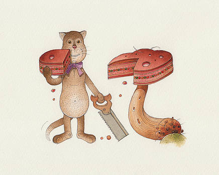 Lazy Cats10 by Kestutis Kasparavicius