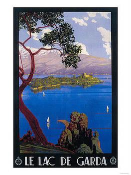 Le Lac De Garda by Vintage
