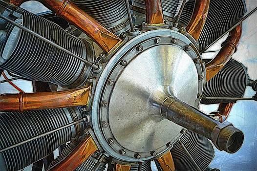 Michelle Calkins - Le Rhone C-9J Engine