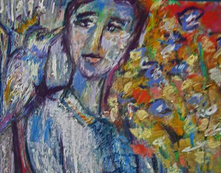 Le Roi Oiseau et la jeune fille  by Tolere