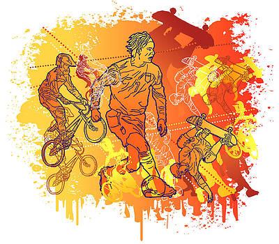 Le Sport by Adz Akin