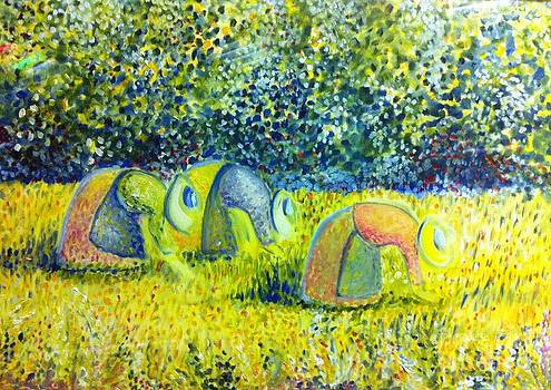 Le tre Mondine by B Russo