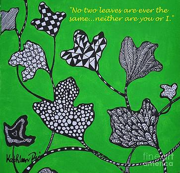 Leaf Diversity by Kathleen Pio