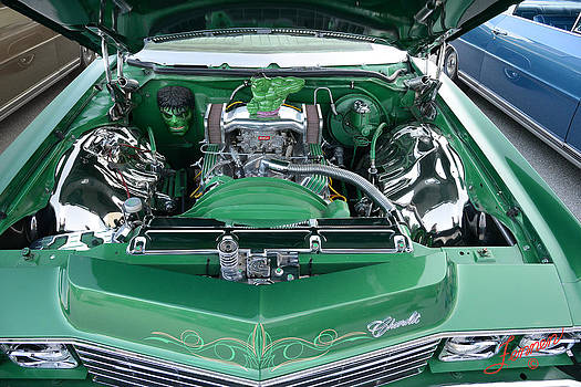Lean Green Chevy Machine by Charles Fennen