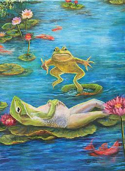 Leap Frog-Ha Ha by Carol Bitz