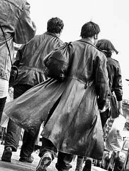Leather Coat by Glenn Hewitt
