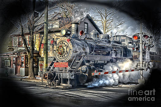 Leaving The Station by Arnie Goldstein