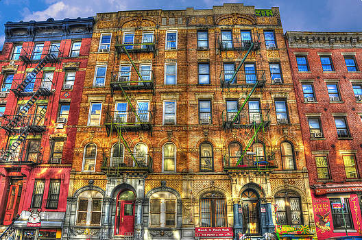 Led Zeppelin Physical Graffiti Building in Color by Randy Aveille