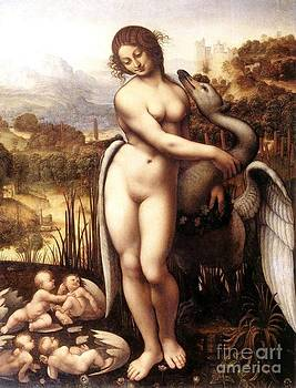 REPRODUCTION - Leda and the Swan