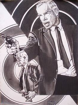 Lee Marvin - Point Blank by Sean Connolly