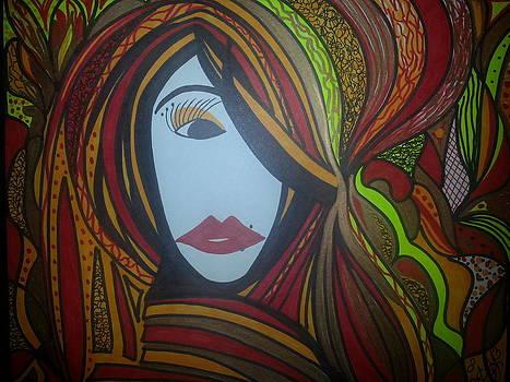 Left eye by Felicia Anguiano