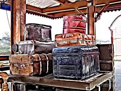 Left Luggage by Gra Howard