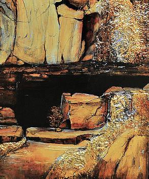 Legendary Lost Dutchman mine by JAXINE Cummins